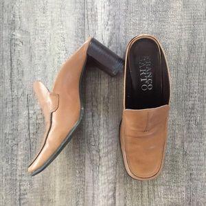 Franco Sarto Slip On Heel Mules